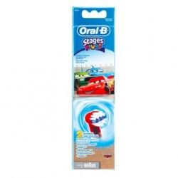 Oral-B - EB10 - Brossettes Cars - Pack de 3