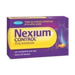 NEXIOM Control Brûlures d'estomac Boite de 7 comprimés