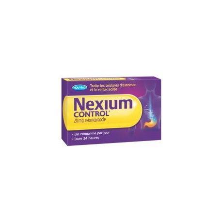 NEXIUM Control Brûlures d'estomac Boite de 7 comprimés