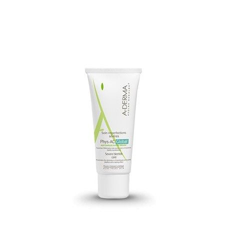 ADERMA Soin imperfections sévères PHYS-AC Global Tube de 40 ml