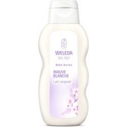 WELEDA Bébé derma Lait corporel mauve blanche Flcon de 200 ml