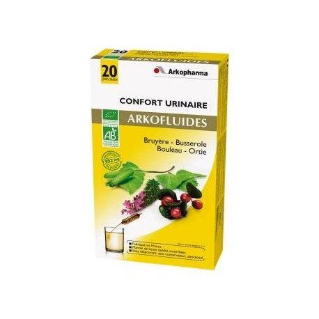 ARKOPHARMA Arkofuides Confort Urinaires Boite de 20 ampoules