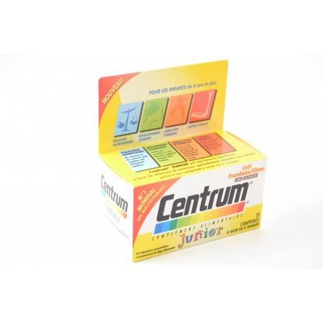 CENTRUM Junior Boite de 30 comprimés a croquer