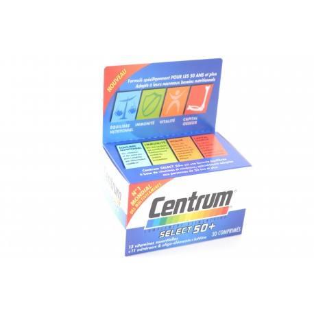 CENTRUM Select 50 + Boite de 30 comprimés