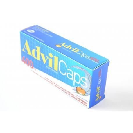 ADVILCAPS Ibuprofene 400 mg Boite de 14 capsules molles