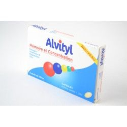 ALVITYL Mémoire et concentration Boite de 30 capsules vanilles