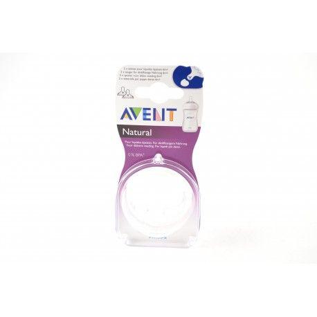 AVENT Tétine pour liquides épaissis 6 m + Boite de 2