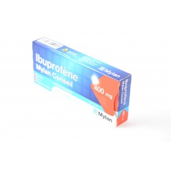 IBUPROFENE Mylan Conseil 400 mg Boite de 12 comprimés