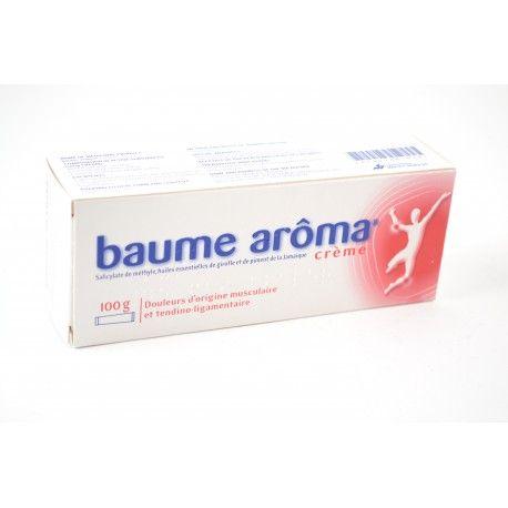 BAUME AROMA Crème tube de 100 Grammes