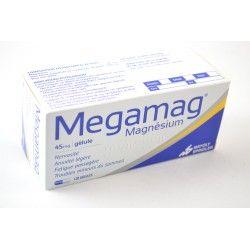 MEGAMAG Magnésium 45 mgBoite de 120 gélules