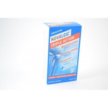 NOVALGIC Triple Action Boite de 56 (capsules + gélules)