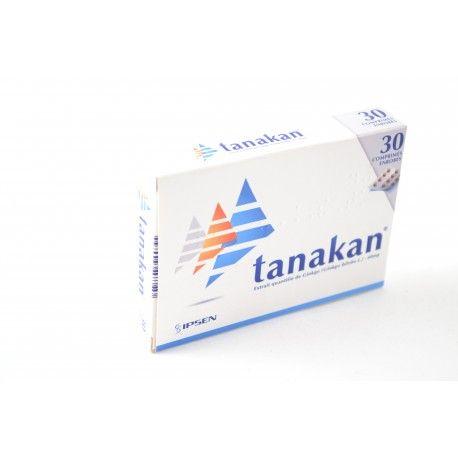 TANAKAN xtrait de Gingko Biloba