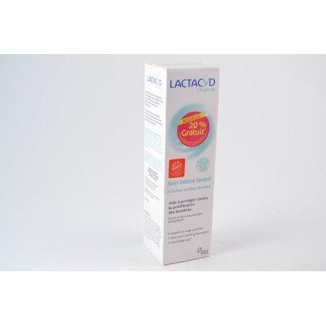 LACTACYD Soin intime lavant action antibactérienne Flacon de 250 ml