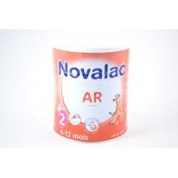 NOVALAC AR 2 bébés de 6 à 12 mois Boite de 800 gr