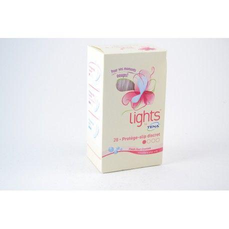 TENA Lights Protèe slip discret Boite de 28