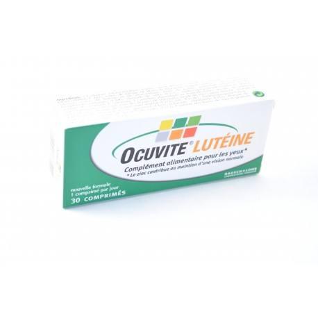 OCUVITE LUTEINE Complément alimentaire pour les yeux Boite de 30 comprimés