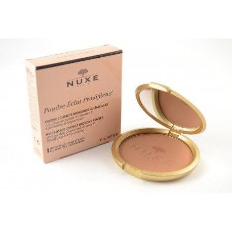 NUXE Poudre Eclat Prodigieux Bronzante - Toutes peaux - Poudrier de 25 grammes