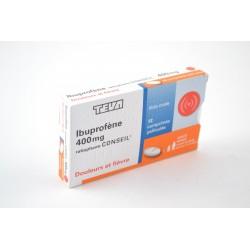 IBUPROFENE RATHIOPHARM 400 MG Douleurs et Fièvre Boite de 12 comprimés
