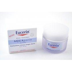 EUCERIN AQUAPORIN ACTIVE Soin hydratant peaux sèches Pot de 50ml