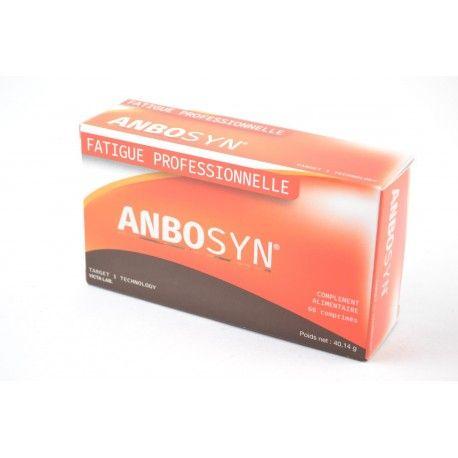 ANBOSYN Complément alimentaire contre la fatigue professionnelle Boite de 60