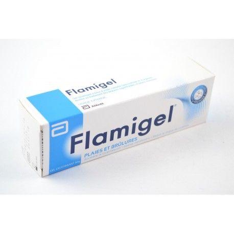 FLAMIGEL Plaies et brûlures Tube de 50 gt