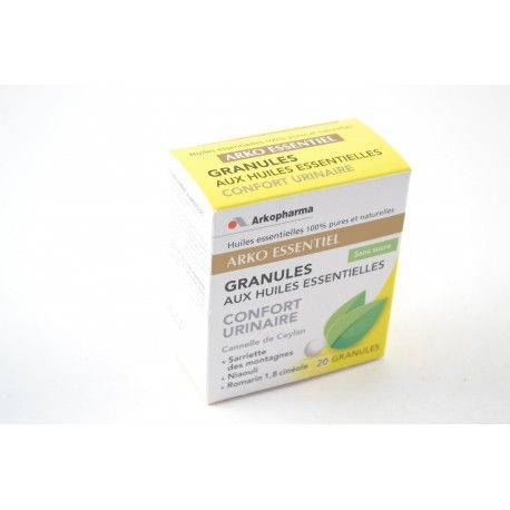 ARKOPHARMA Arko Essentiel Confort Urinaire Boite de 20 granules