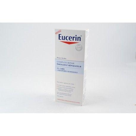 EUCERIN Emollient Réparateur 5% Urée Peau sèche Flacon de 400 ml