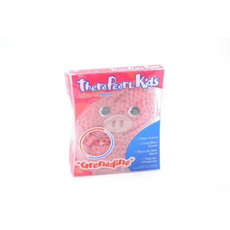 THERA PEARL KIDS Grenadine Poche chaud ou froid