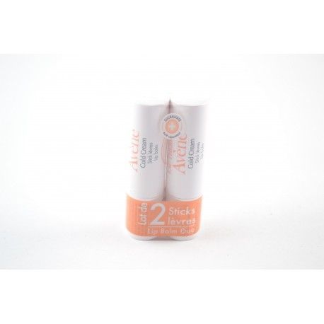 AVENE COLD CREAM Stick lèv apais 2x4g