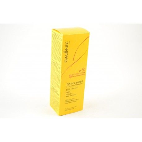 GALENIC SOINS SOLEIL SPF50 Lait velout 100ml