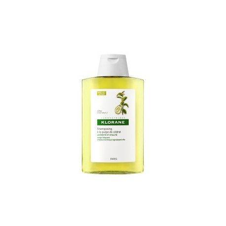 KLORANE CAPILLAIRE Shampooing à la pulpe de Cédrat Flacon de 400 ml