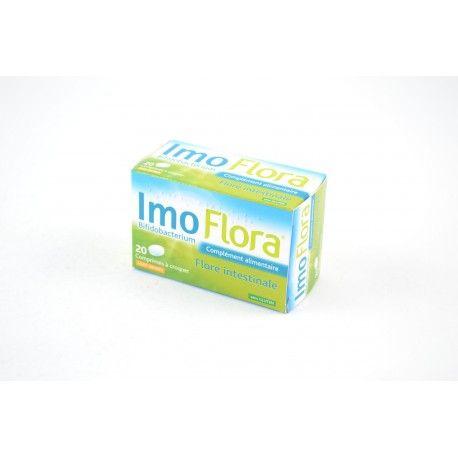 Imo Flora Flore intestinale Goût orange Boite de 20 comprimés à croquer