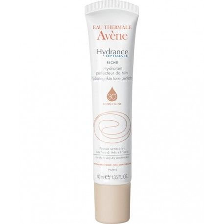 AVENE Hydrance Optimale Riche Hydratant 30 SPF Bonne mine Tube de 40 ml
