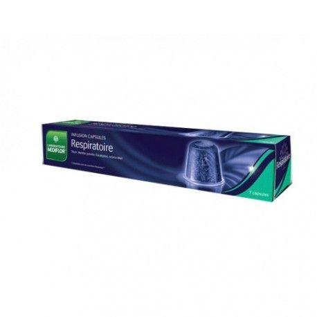 MEDIFLOR Infusion Respiratoire Boite de 7 capsules compatibles avec Nespresso