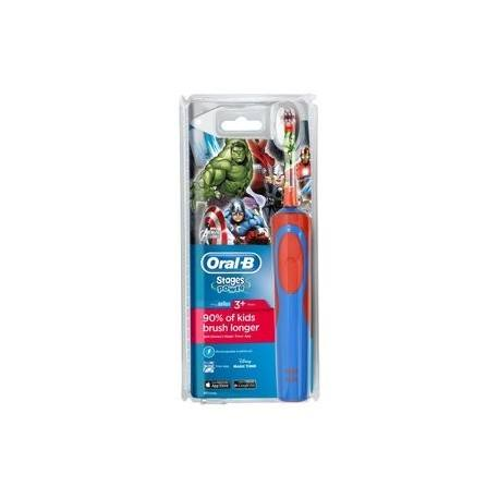 ORAL B Brosse à dents Stages Power Avengers