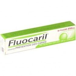 FLUOCARIL Dentifrice Bi-Fluoré Menthe - Pâte dentaire 250 mg - Tube 125 ml