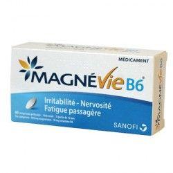 MAGNE VIE B6 100 mg / 10 mgBoite de 60 comprimés