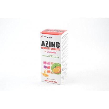 ARKOPHARMA Forme et Vitalité 11 Vitamines A partir de 3 ans Flacon de 150 ml