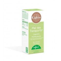 GIFRER Mal des transports Goût caramel Flacon de 125 ml