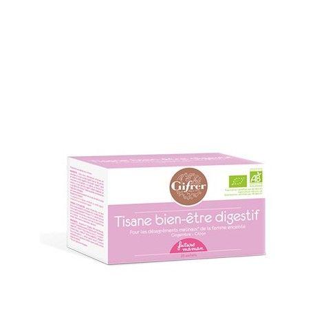 GFRER Tisane bien-être digestif Boite de 20 sachets