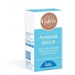 HUILE D'AMANDE DOUCE GIFRER Huile Flacon de 56 ml