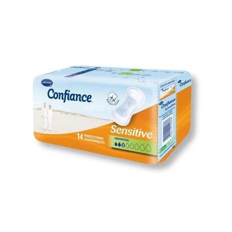 CONFIANCE Senstive Protections antatomiques Paquet de 14 protections