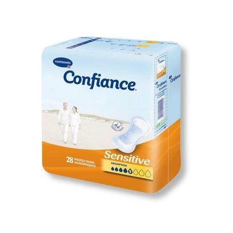 CONFIANCE Protections anatomiques Paquet de 28 protections