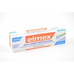 ELMEX Dentifrice Anti-carries Proffesional Junior 6-12 ans Tube de 75 ml