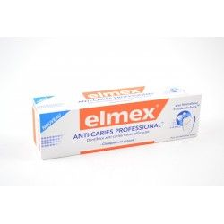ELMEX Dentifrice anti-caries professional Tube de 75 ml