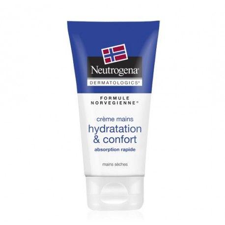NEUTROGENA Crème mains hydratation et confort Tube de 75 ml
