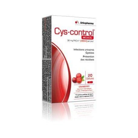ARKOPHARMA CYS-CONTROL Médical Boite de 60 gélules