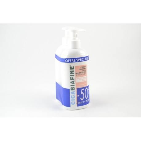 CICABIAFINE Crème de douche Anti-irritations La 2ème crème à -50 %