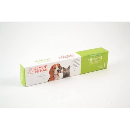 GELMINTHE Seringue Vermifuge Chien-Chat moins de 20 kg 10 ml