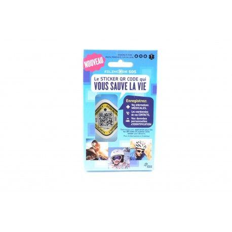 SILINCODE SOS Le sticker QR CODE qui vous sauve la vie